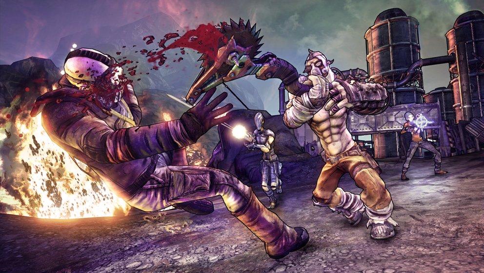 Borderlands 2: Launch Trailer zum Psycho Bandit DLC