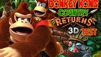 Donkey Kong Country Returns 3D Test: Grandios geht noch besser!