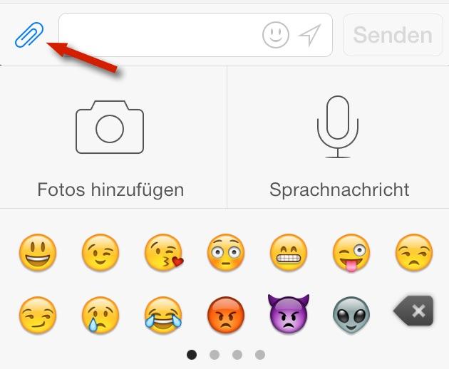 Emoticon-Tastatur