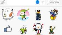 Smileys auf Facebook: Emoticons und große Sticker kostenlos verwenden