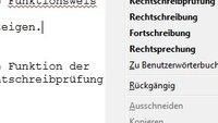 Das Firefox Wörterbuch gegen die Rechtschreibfalle