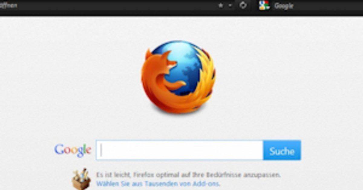 Downgrade Firefox