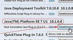 Firefox und Java - Tipps zum Umgang mit dem Web-Team