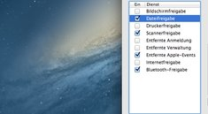 Mac OS X: Freigaben erklärt - So funktionieren die Netzwerkeinstellungen