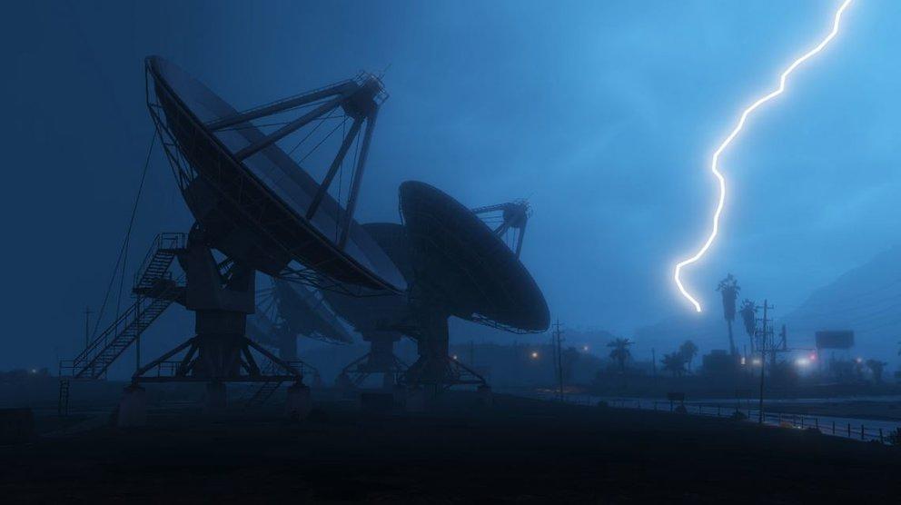GTA 5 wartet mit neuen dynamischen Wettereffekten auf.