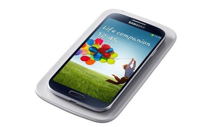 Samsung Galaxy S4 – Zubehör fürs drahtlose Aufladen erhältlich