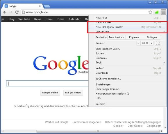 Google Chrome Langsam