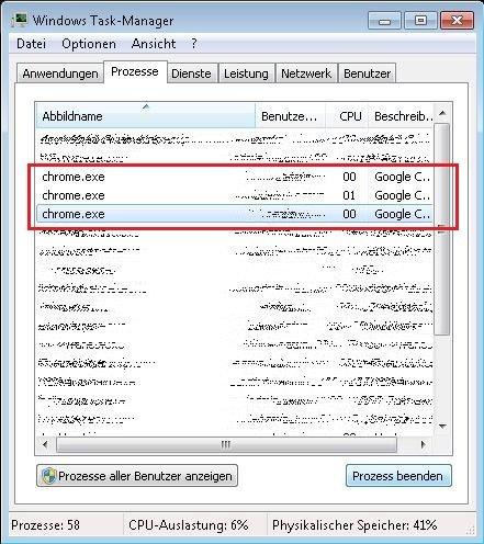 Google Chrome Funktioniert Nicht