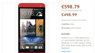 HTC One kommt auch in Rot? (Short News)