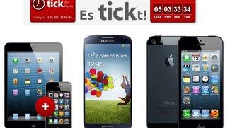 iPhone 5, Samsung Galaxy S4 oder iPhone 4 mit iPad mini für 0 Euro mit Vertrag
