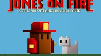 Jones On Fire: Feuer, Katzen und 8-Bit (Gameplay)
