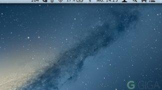 OS X Menüleiste: Icons löschen, verschieben und hinzufügen