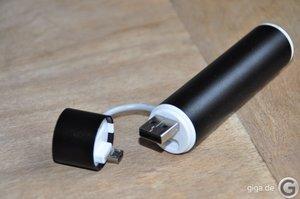 Zusatzakku im Test: Mipow Power Tube 2600M