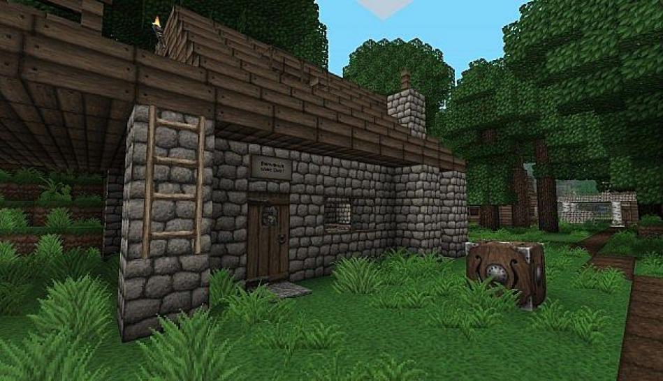 Minecraft Texture Packs Viele Bunte Welten Da Draußen GIGA - Hauser in minecraft einfugen