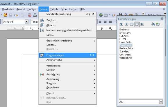 Anpassung des OpenOffice Layout: So richten Sie Ihre Seiten her – GIGA