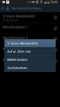 S4-Sprachbefehl