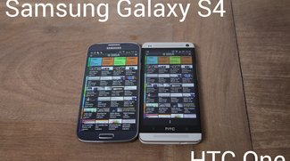 Samsung Galaxy S4 - Erster Eindruck im Vergleich zum HTC One