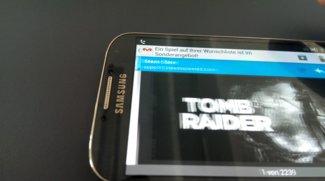 Samsung Galaxy S4 - Schlieren und schlechte Darstellung der Schrift