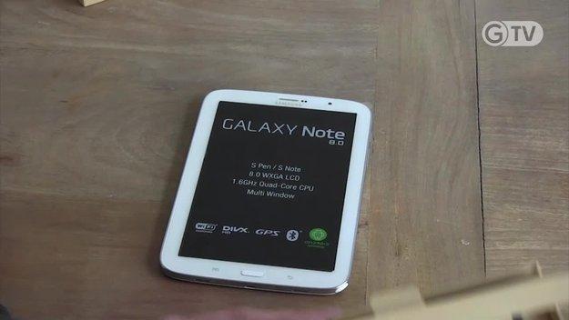 Samsung Galaxy Note 8.0: Das S-Pen-Tablet im Test