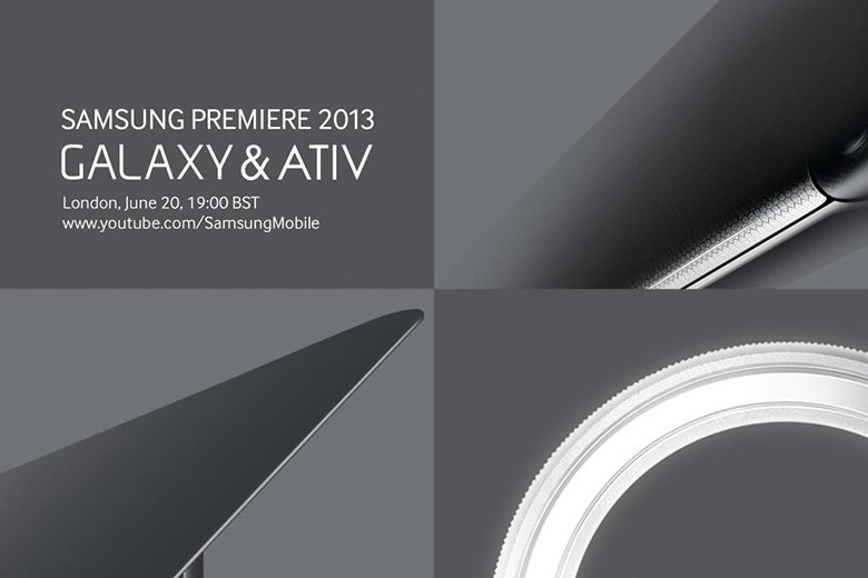 Samsung Event in London: Neue Galaxy- und ATIV-Geräte