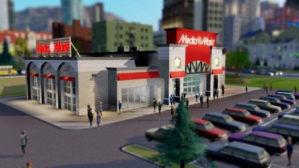 Mediamarkt in SimCity