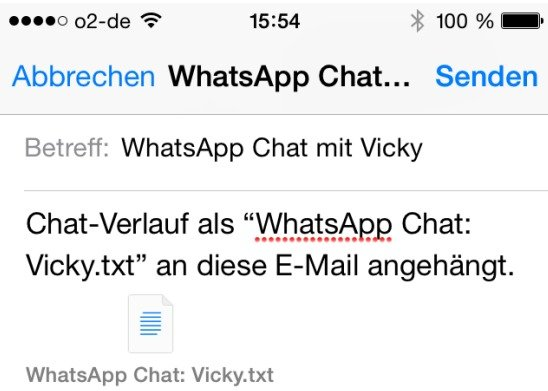 WhatsApp-Chat-Mail-speichern