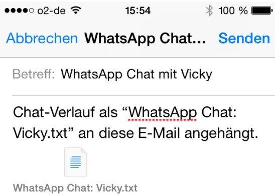 WhatsApp-Chat-Mail-speichern