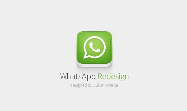 WhatsApp Design: Ein schönes Konzept für den beliebten Messenger