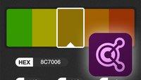 Adobe Kuler für iOS: Stimmige Farbthemen aus Livebild