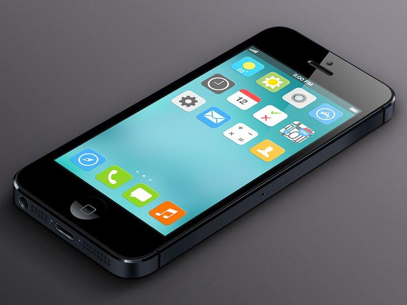 iOS 7 Konzept von Alex Iv