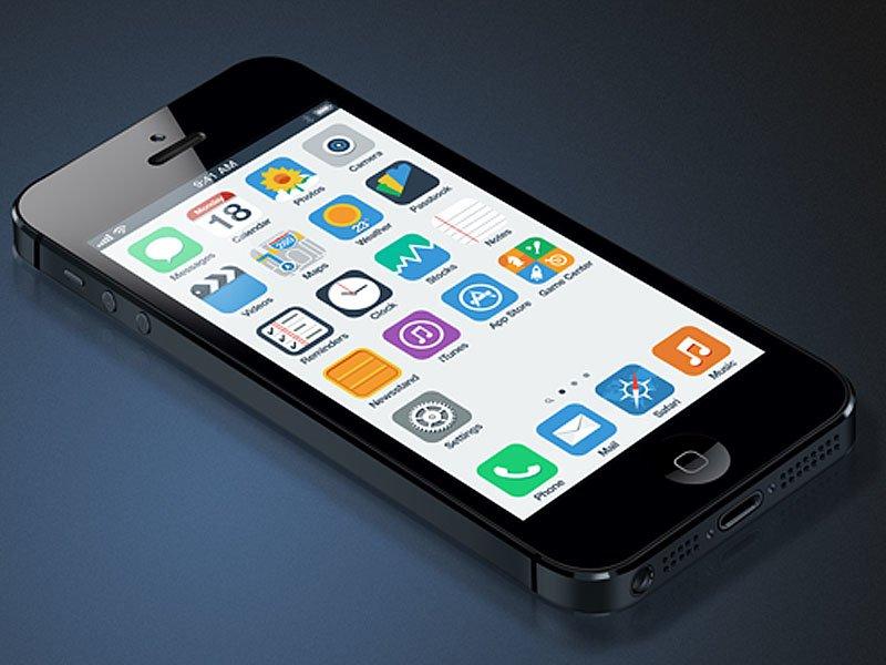 iOS 7 Konzept von Anton Kovalev