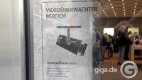 Apple Store Berlin: Kameras vor Gäste-WCs und im Meetingraum (Kommentar)