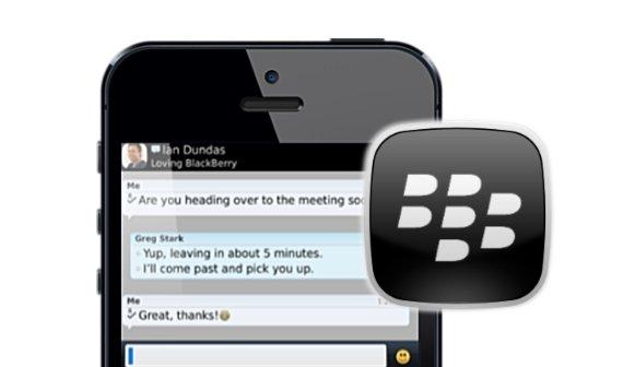 Blackberry geht fremd: Blackberry Messenger (BBM) für iOS und Android