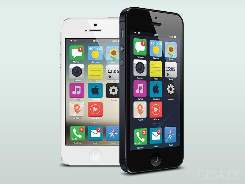 iOS 7 Konzept von Dámaso Benítez
