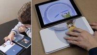 iPad erkennt das Umschlagen von echten Buchseiten (Video)