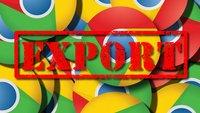 Google Chrome Lesezeichen exportieren und importieren