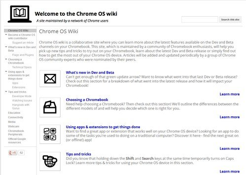Chrome OS Wiki