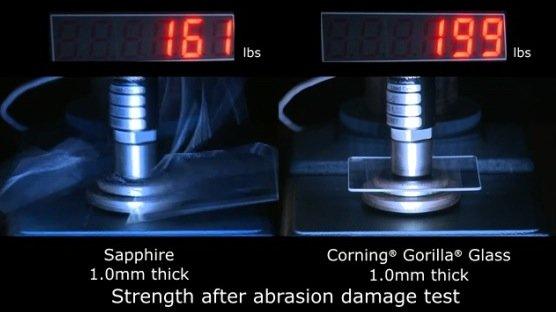 Smartphone-Displays: Gorilla-Glass-Hersteller sieht keine Gefahr durch Saphirglas