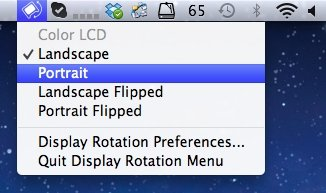 display_rotation_menue