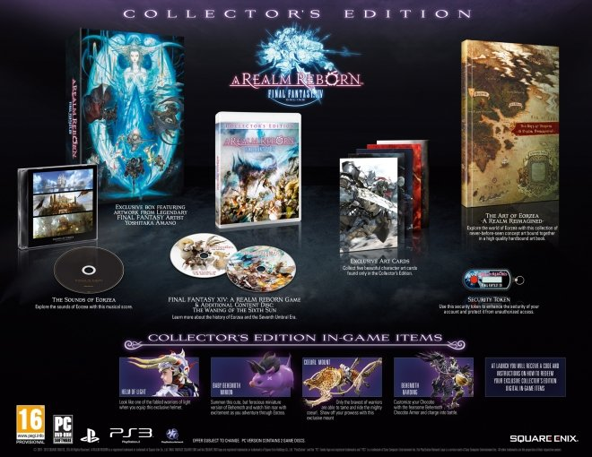 Die Final Fantasy 14: ARR Collector's Edition