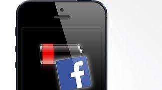 Facebook-App als Akku-Vampir: iPhone wird leergesaugt