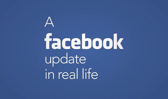Video of the Day: Ein Facebook-Update in Real Life