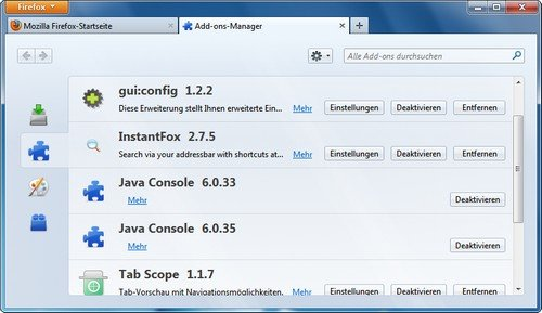 Firefox Add-on Manager