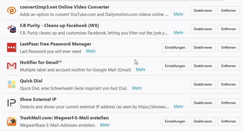 Firefox Addons Aktivieren