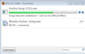 Mit dem Firefox Download Manager alle Downloads im Überblick behalten