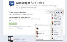 Facebook-Integration im Firefox-Browser