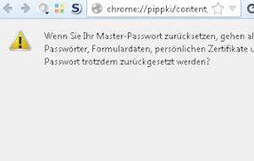 Das Firefox Masterpasswort löschen