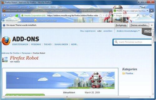 Firefox Personas finden