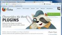Die wichtigsten Firefox Plugins: Flash, PDF, Java