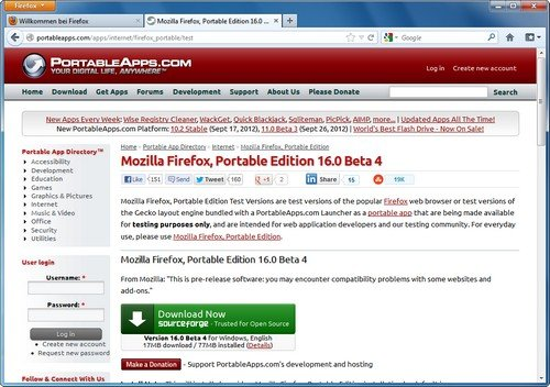 Firefox Portable Plugins